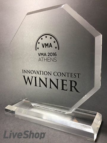LiveShop awarded 1st place at Visions & Methods Applied at Athenes